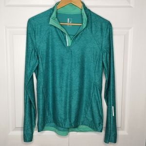 Mondetta Activewear 1/4 Zip Pullover Athletic Top
